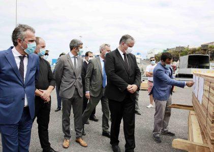 Pavilhão de apoio aos pescadores de Rabo de Peixe estará concluído em outubro